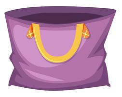 Grand sac fourre-tout violet