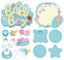 Banderoller för baby pojke