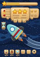 Modelo de jogo - foguete espacial