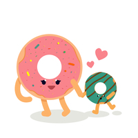 Donuts Vector