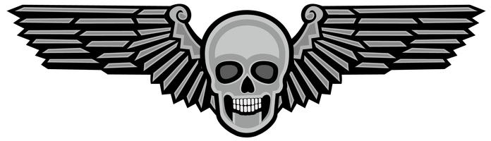 army skull coat of arms
