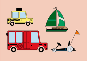 Free transport Vector