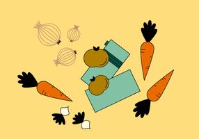 Vecteur de légumes gratuit