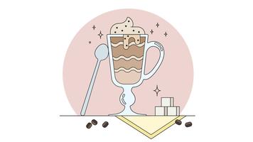 Cappuccino-Vektor