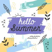 Creative Summer Vector
