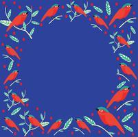 vector de patrones sin fisuras lovebird