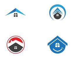 Diseño de logotipos inmobiliarios, inmobiliarios y de construcción para empresas. Vector Logo ..