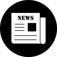 Vector krant pictogram