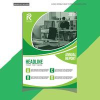 Green Modern Brochure vector