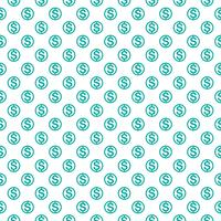 Seamless pattern with dollar sign. Repeating currency symbol background for textile design, wrapping paper, scrapbooking etc.