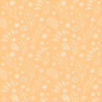 Nahtloses Muster mit niedlichen Kaninchen. Ostern Hintergrund.