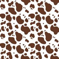 Seamless hand drawn pattern with cow fur. Repeating cow skin background for textile design, scrapbooking, wrapping paper, walpaper. Abstract endless animal print.