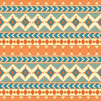 Tribal seamless vector pattern. Ethnic abstract geometric background. Reapiting ornament in ethno style for wallpaper, wrapping paper, scrapbooking or textile design.