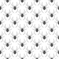 Spiders vector seamless pattern for textile design, wallpaper, wrapping paper