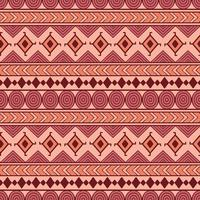 Stamlös sömlös vektormönster. Etnisk abstrakt geometrisk bakgrund. Repapiting prydnad i etno stil för tapeter, papper, scrapbooking eller textil design.