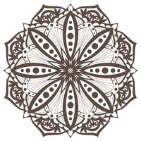 Vector Mandala. Oriental decorative element. Ethnic design element.