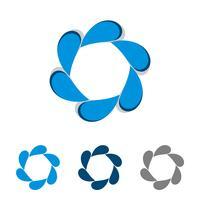 Flower Star decoratieve Logo sjabloon afbeelding ontwerp. Vector EPS 10.