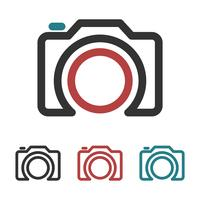 Camera vector design Logo Template Illustration Design