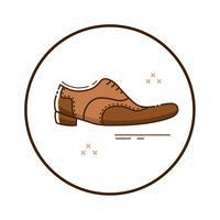 Line art mafia shoes