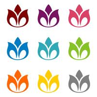 Lotus Flower Ornamental Logo Template-Illustrations-Design