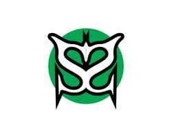 Modelo de vetor de logotipo de carta de negócios