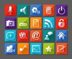 Nuove icone delle app impostate in piano