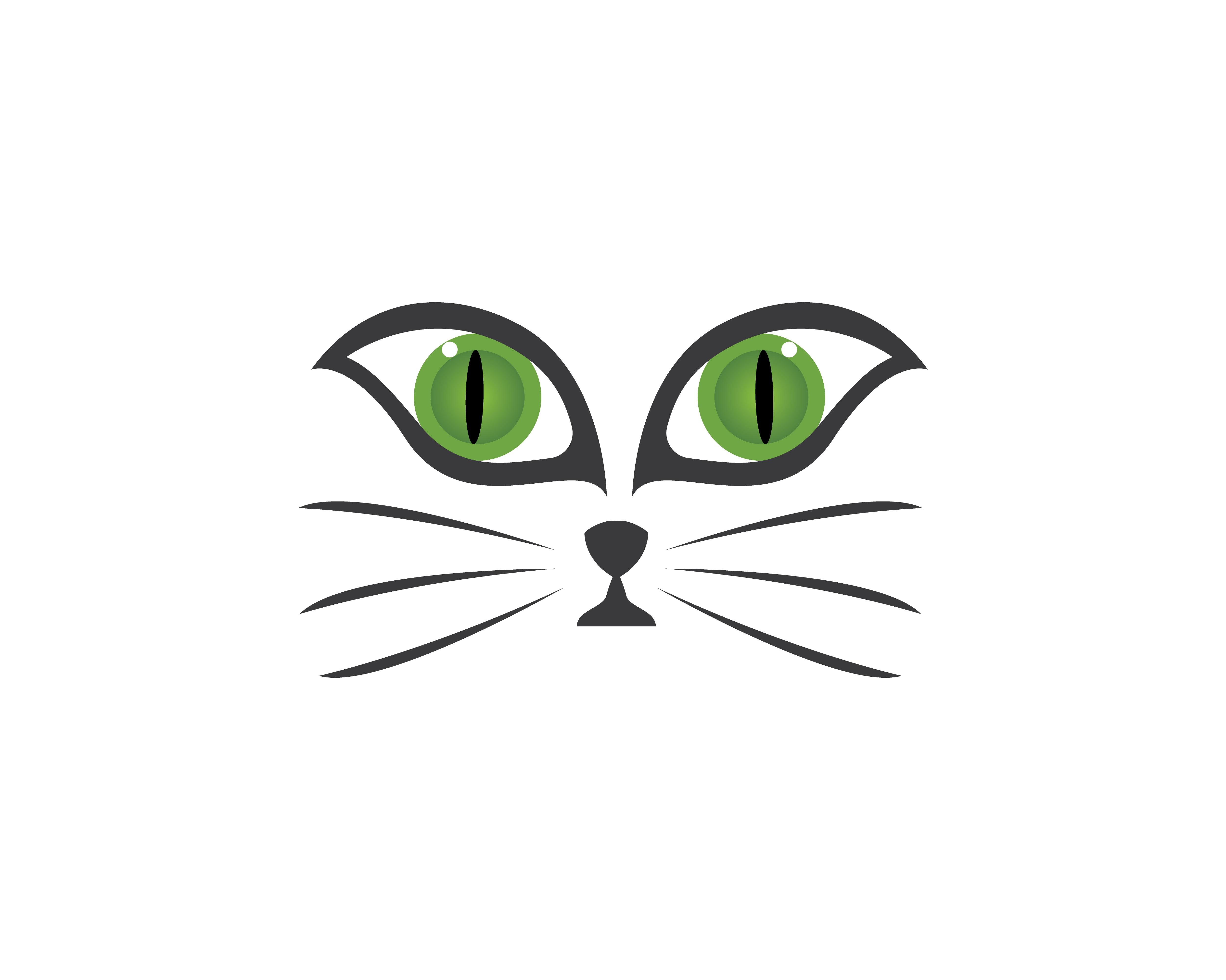 Face Cat Logo Vector Download Free Vectors Clipart Graphics Vector Art