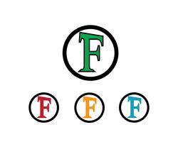 Zakelijke brief logo vector sjabloon