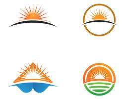 Sun generic logo and symbols