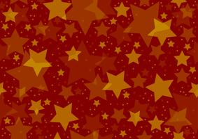 Stars Texture over Red