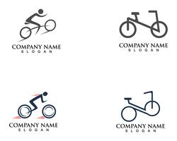 Bike logo and symbols vector