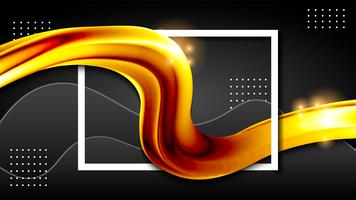 fluid liquid gold background wallpaper design