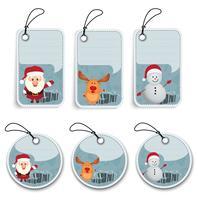 Christmas Label and tags
