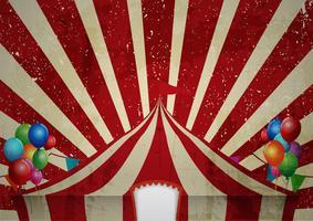 Zirkuszelt-Feier