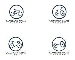 Bike logo e simboli vettoriali