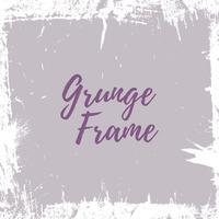 grunge framerand vector