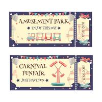 Pretpark ticket