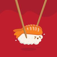 Vetor de sushi