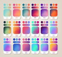 Farbverlaufsideen vektor