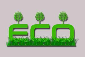 Umweltfreundliche Vektoren