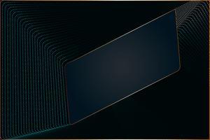 Conception moderne de particule ligne abstrait avec espace copie, illustration vectorielle pour la conception de votre bannière d'entreprise et web.