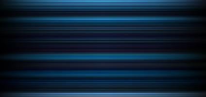 Abstract dark blue background with horizontal light and lines pattern wallpaper.