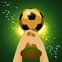 world soccer champion vector