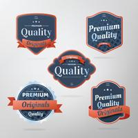 retro-badge vector pack