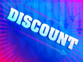 Colorful Discount background