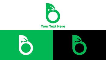 B Green Logo Concept for Healthy Company