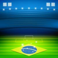 brazil soccer stadium background