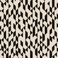 Abstract geometric black triangles structured pattern on brown background.
