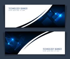 Futuristic Abstract technology banner