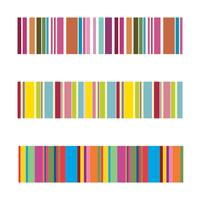 vertical colorful stripes abstract background, stretched pixels